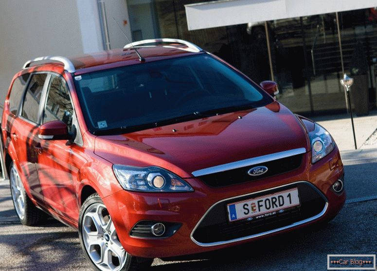 Ford Focus 2 auto restyling 2014